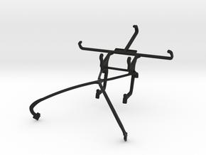 NVIDIA SHIELD 2014 controller & ZTE V5 Lux - Front in Black Natural Versatile Plastic