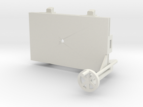 A-1-35-wagon-d-class-bogie-1a in White Natural Versatile Plastic