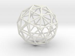 Maxvol.3.42 50mm in White Natural Versatile Plastic