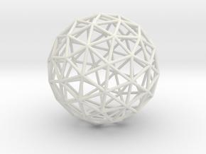 Maxvol.3.72 50mm in White Natural Versatile Plastic