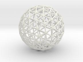 Maxvol.3.122 50mm in White Natural Versatile Plastic