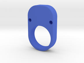 Loop Keychain Knuckle in Blue Strong & Flexible Polished