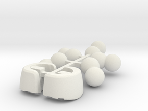 Desktop Army B101 Silphy Joints and Heels in White Natural Versatile Plastic