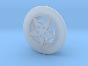 Mattress Button in Smooth Fine Detail Plastic