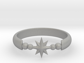 Ring of Star 20.6mm  in Aluminum