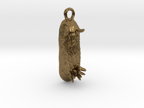 Unna the Nudibranch Pendant (Sea Bunny) in Natural Bronze
