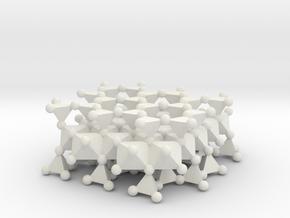 Talc (large model) in White Natural Versatile Plastic
