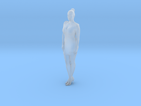 1:120 woman standing in Frosted Extreme Detail