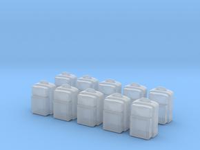 Rettungsrucksack - 10 Stück 1/87 in Smoothest Fine Detail Plastic