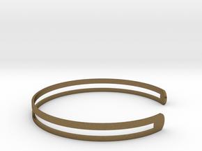 Bracelet Ø58 Mm S/Ø2.283 inch in Natural Bronze