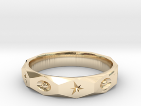 star spark ring  in 14K Yellow Gold: 10.5 / 62.75