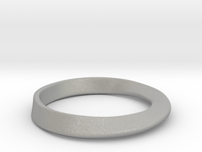 Möbius Ring in Aluminum