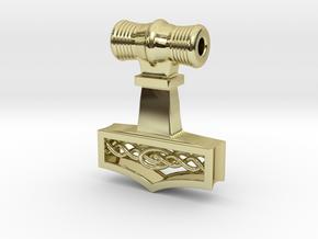 Mjölnir - Thor's hammer in 18k Gold