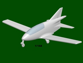 Bede BD-5B MICRO, scale 1/144 in Smooth Fine Detail Plastic