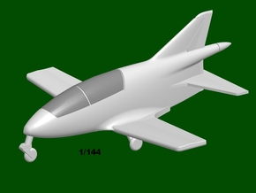 Bede BD-5A Micro, scale 1/144 in Smooth Fine Detail Plastic