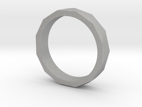 Engineers Ring - US Size 6.5 in Aluminum