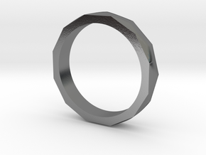 Engineers Ring - US Size 9.5 in Polished Silver
