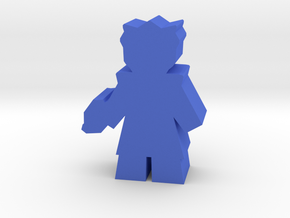 Game Piece, Bone Federation Officer in Blue Processed Versatile Plastic