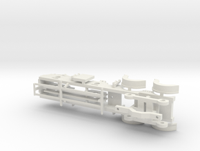 Cambrian Class 61  - P4 CHASSIS in White Strong & Flexible