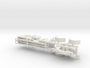 Cambrian Class 61  - 00 CHASSIS in White Strong & Flexible