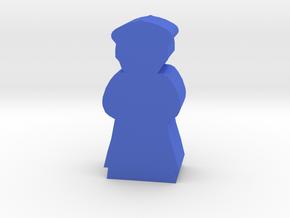Game Piece, Bone Federation Ambassador in Blue Strong & Flexible Polished