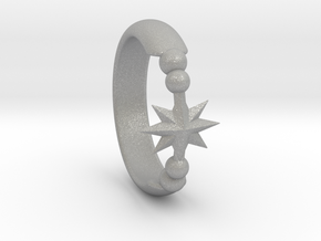Ring of Star 14.5mm in Aluminum