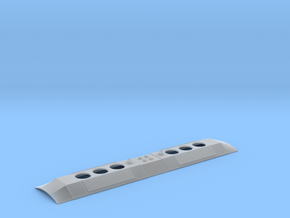 DL-109 Replacement Roof (HO - 1:87) in Smooth Fine Detail Plastic