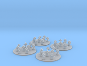 Sci-Fi Infantry Platoon (based) 6mm in Smooth Fine Detail Plastic