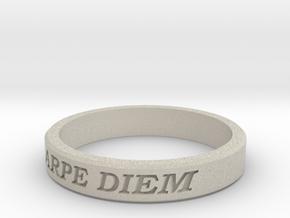 Carpe Diem US Size 10 Ring in Natural Sandstone