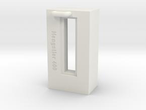 Hengstler Counter 6 Number Housing in White Natural Versatile Plastic