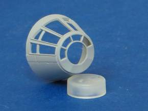 YT1300 BANDAY 1/144 CABIN CONE 5 FOOTER in Smooth Fine Detail Plastic