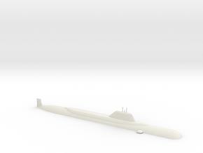 1/600 Yasen Class Submarine (Waterline) in White Natural Versatile Plastic