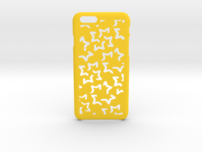Starry iPhone 6 6s case in Yellow Processed Versatile Plastic