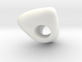 X6 Diente RP in White Processed Versatile Plastic