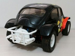 Tamiya MF01X REAR CAGE in White Processed Versatile Plastic