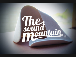 The Sound Mountain: a universal acoustic dock in Natural Sandstone
