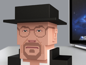 Breaking Bad Heisenberg (large) in Full Color Sandstone