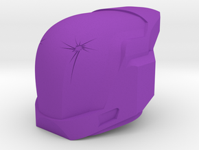 Helm Of Inmost Light in Purple Processed Versatile Plastic