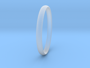 Ring Size 10 Design 3 in Smooth Fine Detail Plastic