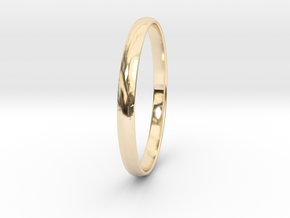 Ring Size 11.5 Design 3 in 14K Gold