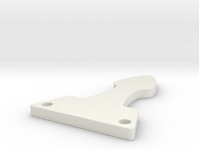 PP Cape Clip-Blade in White Natural Versatile Plastic