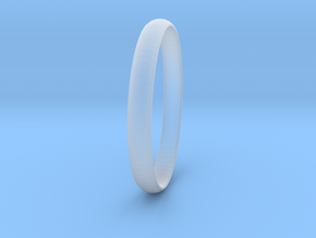 Ring Size 7.5 Design 4 in Smooth Fine Detail Plastic