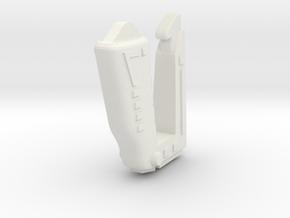 Space 1999 Stun Gun replacement model for Mattell  in White Natural Versatile Plastic