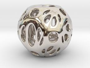 hydrangea ball 06 in Platinum