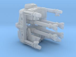 deAgo Laser Cannon FiberOptics V3 in Smooth Fine Detail Plastic