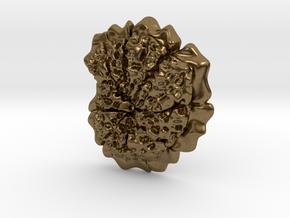 Morozovelloides Plankton Pendant in Natural Bronze
