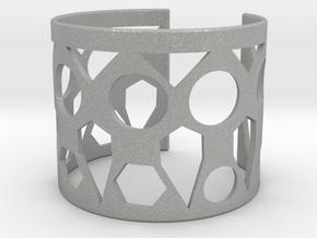 Cubic Bracelet Ø53 Mm Style A XS/2.086 inch in Aluminum