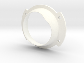Holoprojector Front Bezel in White Processed Versatile Plastic