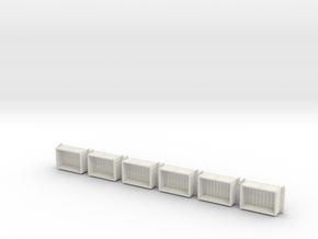 A-1-87-wdlr-a-class-open-fold-side-ends-wagon1c-x6 in White Natural Versatile Plastic