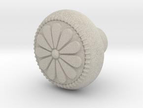 CARINA door knob in Natural Sandstone